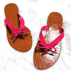 Kate Spade Charles Deep Pink Flip Flops ♠️